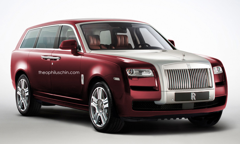 rolls royce suv gets a first rendering autoevolution. Black Bedroom Furniture Sets. Home Design Ideas