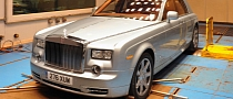 Rolls-Royce Testing Electric Phantom for World Tour