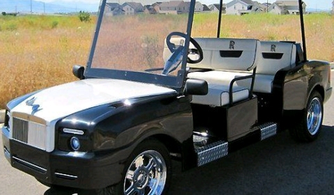 Rolls Royce Golf Cart >> Rolls Royce Wannabe Golf Cart Autoevolution