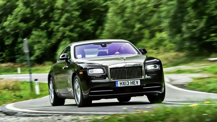 Rolls-Royce Wraith Coupe New Photos Released [Photo Gallery]