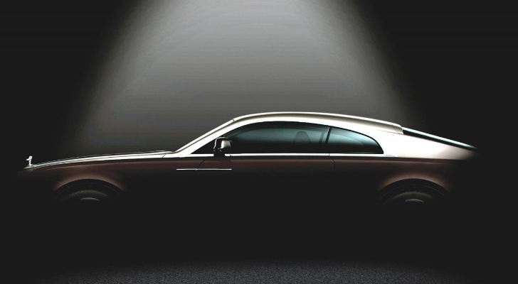 Rolls Royce Wraith (Ghost Coupe) Teaser Photo