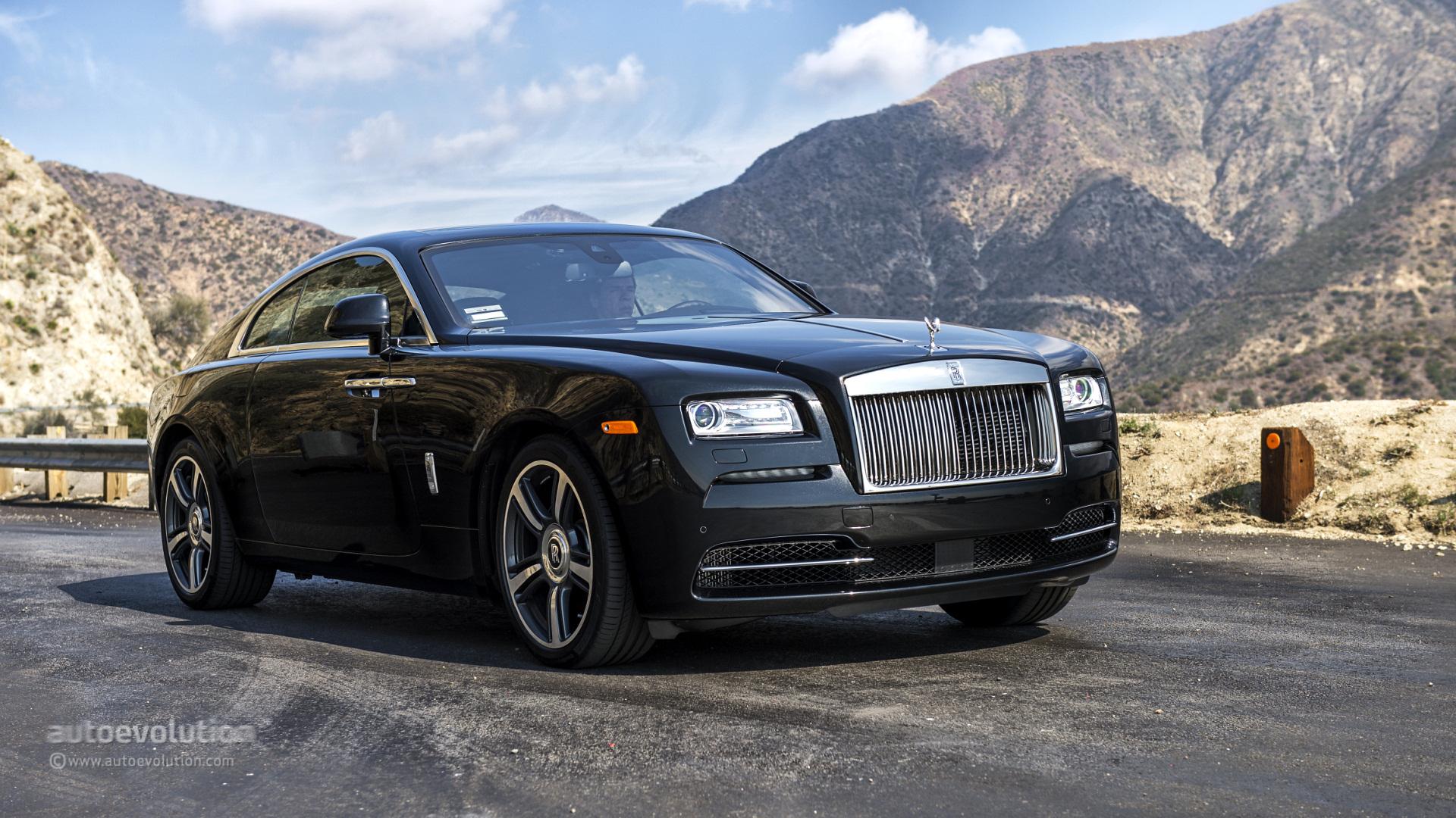 Rolls-Royce Wraith HD Wallpapers
