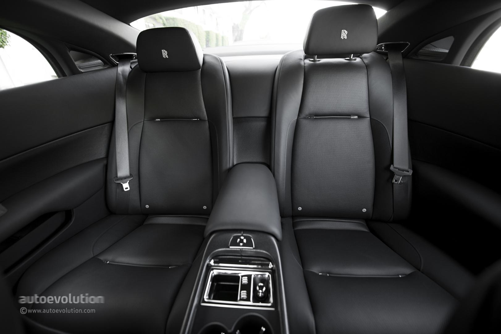 The Rear Of A Rolls Royce