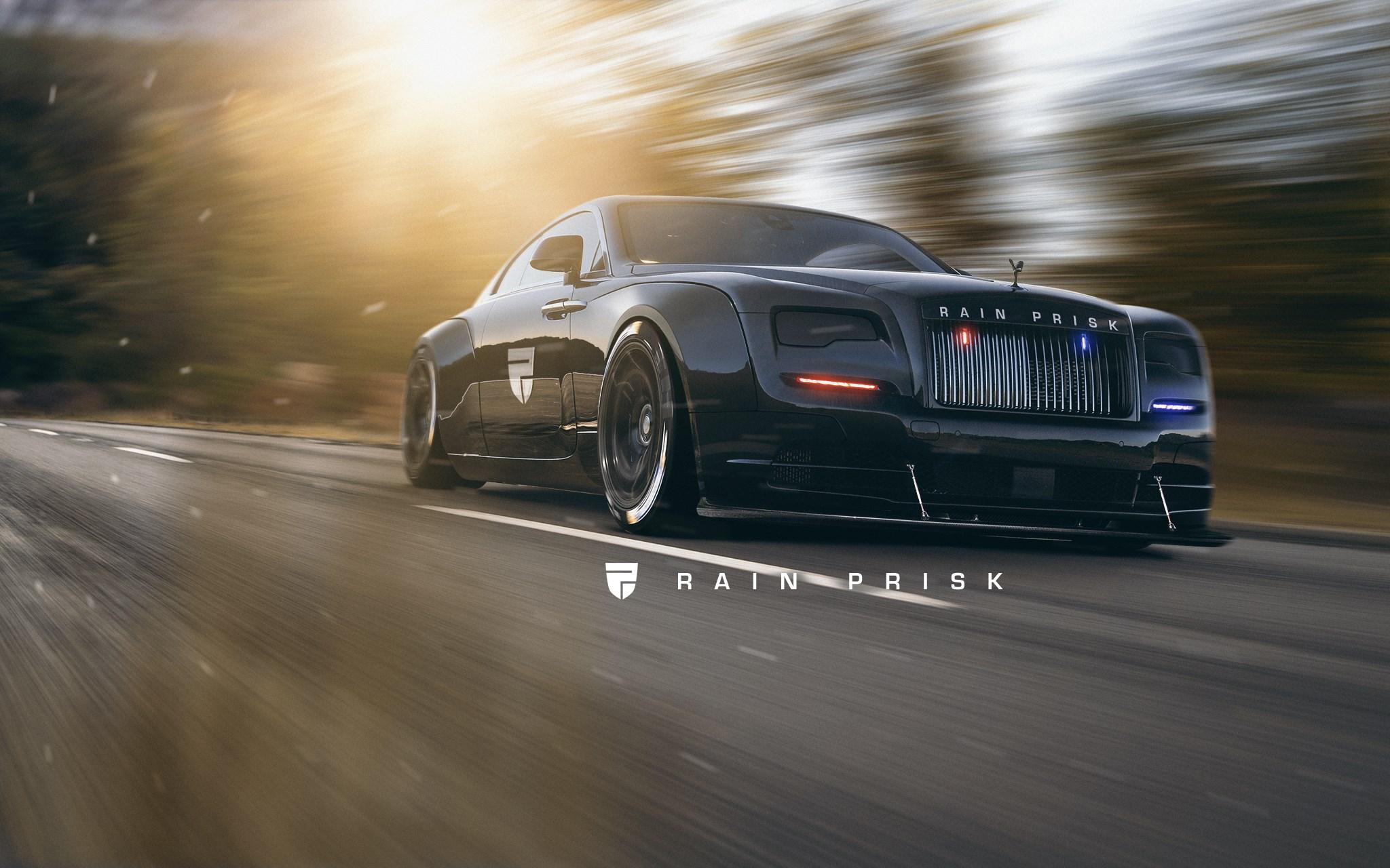 Rolls-Royce Wraith Police Car Rendered as The Lavish Arm ...