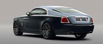 Rolls-Royce Wraith Rendered with Concave ADV.1 Wheels