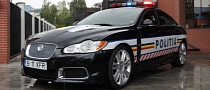 Romanian Police Gets Jaguar XFR