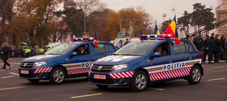 Romanian Police Gets New Dacia Logan, Sandero and Dokker