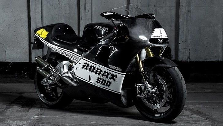 Ronax 500 Race Bike Breaks Cover, 100,000 Euro Price Breaks Wallet - autoevolution