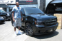 Ronny Turiaf's Chevy Tahoe Customized by Platinum Motorsport