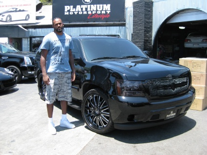 Platinum motorsports celebrity cars
