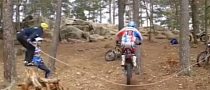Rope Jumping with a Bike Is Awesome [Video]