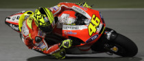 Rossi Happy with Ducati Recovery in Qatar