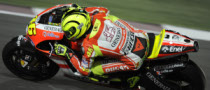 Rossi Pays Price for Unhealed Shoulder in Qatar