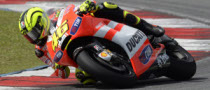Rossi Unhappy with Ducati Performance in Sepang