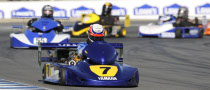 Rossi Wins SuperKart Exhibition Race at Laguna Seca