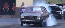 Rotary-Engined Ford Escort Runs 7-Second Quarter Mile [Video]