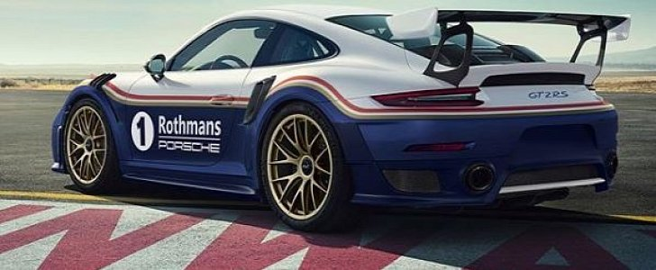 Rothmans Livery 2018 Porsche 911 Gt2 Rs Is A Racing Wrap