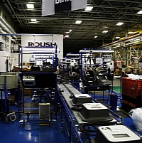 Roush Blink assembly line