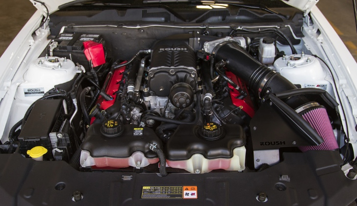 Roush Launches 675 HP Mustang Supercharger