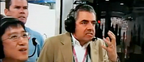Rowan Atkinson Becomes Mr. Bean During F1 Race Crash [Video]