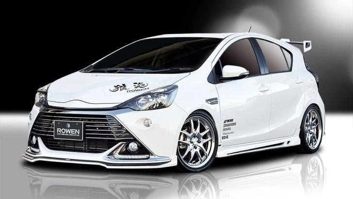 Rowen Tuned Toyota C Aqua Looks Stunning Autoevolution