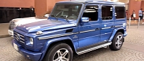 Royal Blue Mercedes G55 AMG [Video]