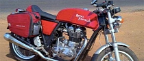 Royal Enfield Cafe Racer 535 Spy Shot in India