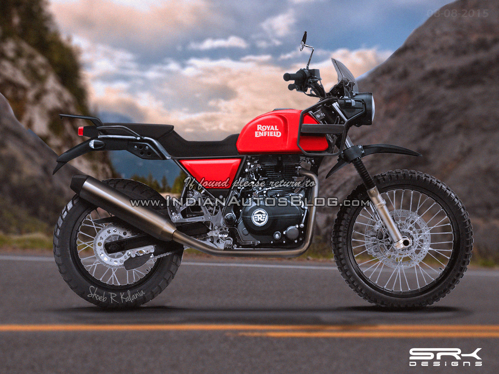 Royal Enfield Himalayan Price Rumored Too Bad It Wont Be That