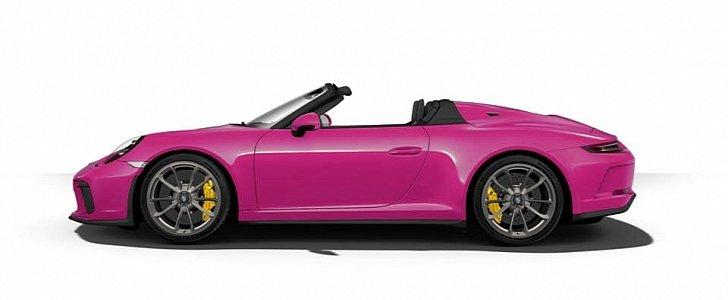 Ruby Star 2020 Porsche 911 Speedster Shows Screaming Spec Autoevolution