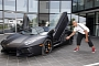 Rugby Legend Jonah Lomu Drives the New Lamborghini Aventador