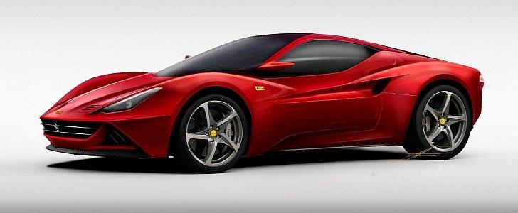 New Ferrari Dino Rumored to Have 600 HP 29liter V6 Engine Under