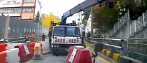 Runaway Crane Triggers Scary Reversing [Video]
