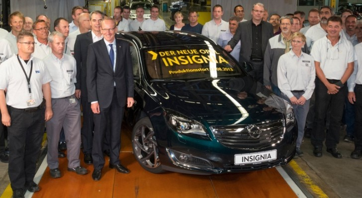 Russelsheim Plant Starts Production of Opel Insignia Facelift