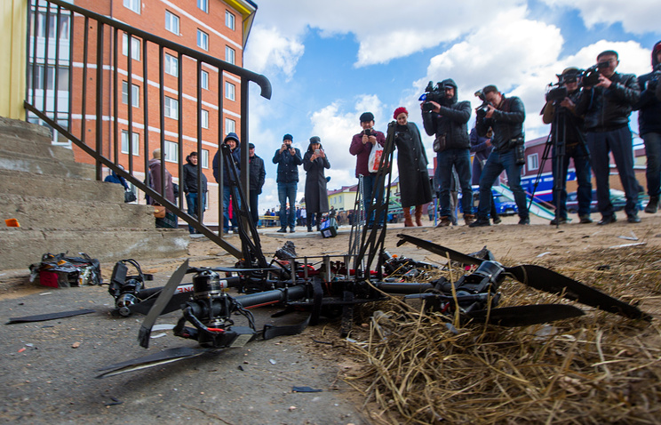 Russia's First High-Tech Postal Drone Launches-And Smashes Straight Into a Wall