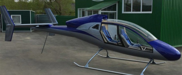 Russia Unveils World S Cheapest Two Seat Helicopter Runs