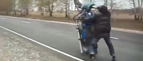 Russian Bikes Can Wheelie. And Crash. [Video]