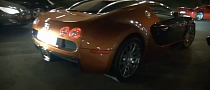 Russian Bronze Bugatti Veyron in Monaco [Video]