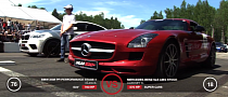 Russian Drag Race: Stock SLS AMG vs 760 HP BMW X6 M [Video]