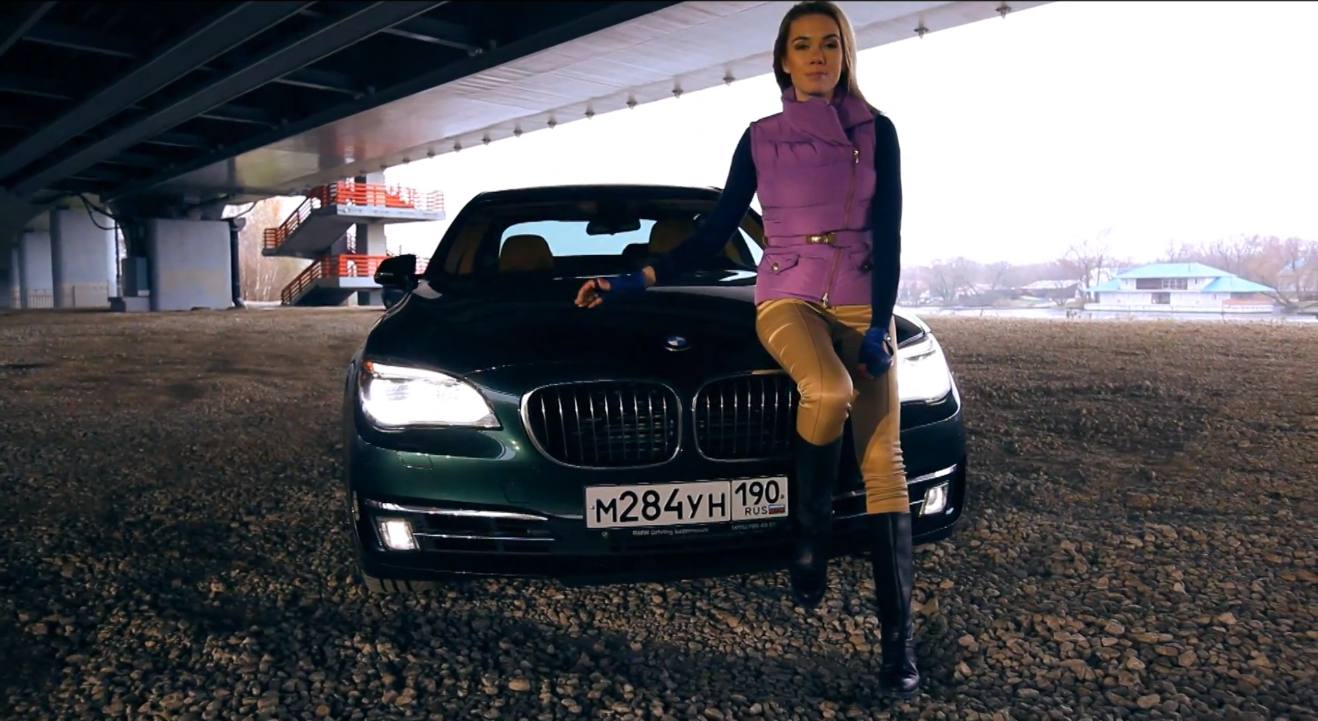 Russian Hottie Tests the BMW 760Li the Right Way: From the ...