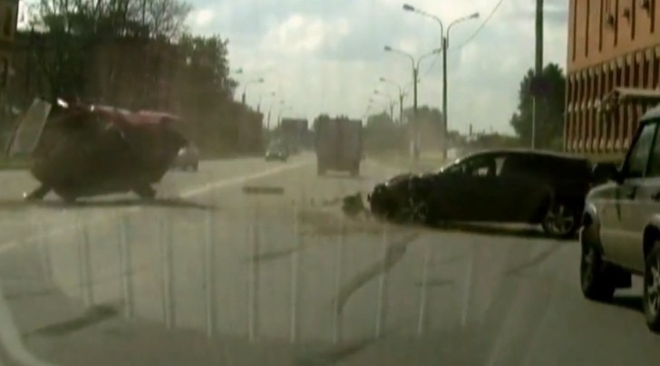 Russian Mazda3 Driver Pays for Eagerness to Overtake [Video]