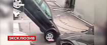 Russian Negligence Causes Audi A3 to Take a Nosedive [Video]