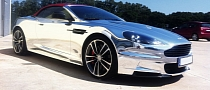 Russians Make Chrome Aston Martin DBS [Photo Gallery]