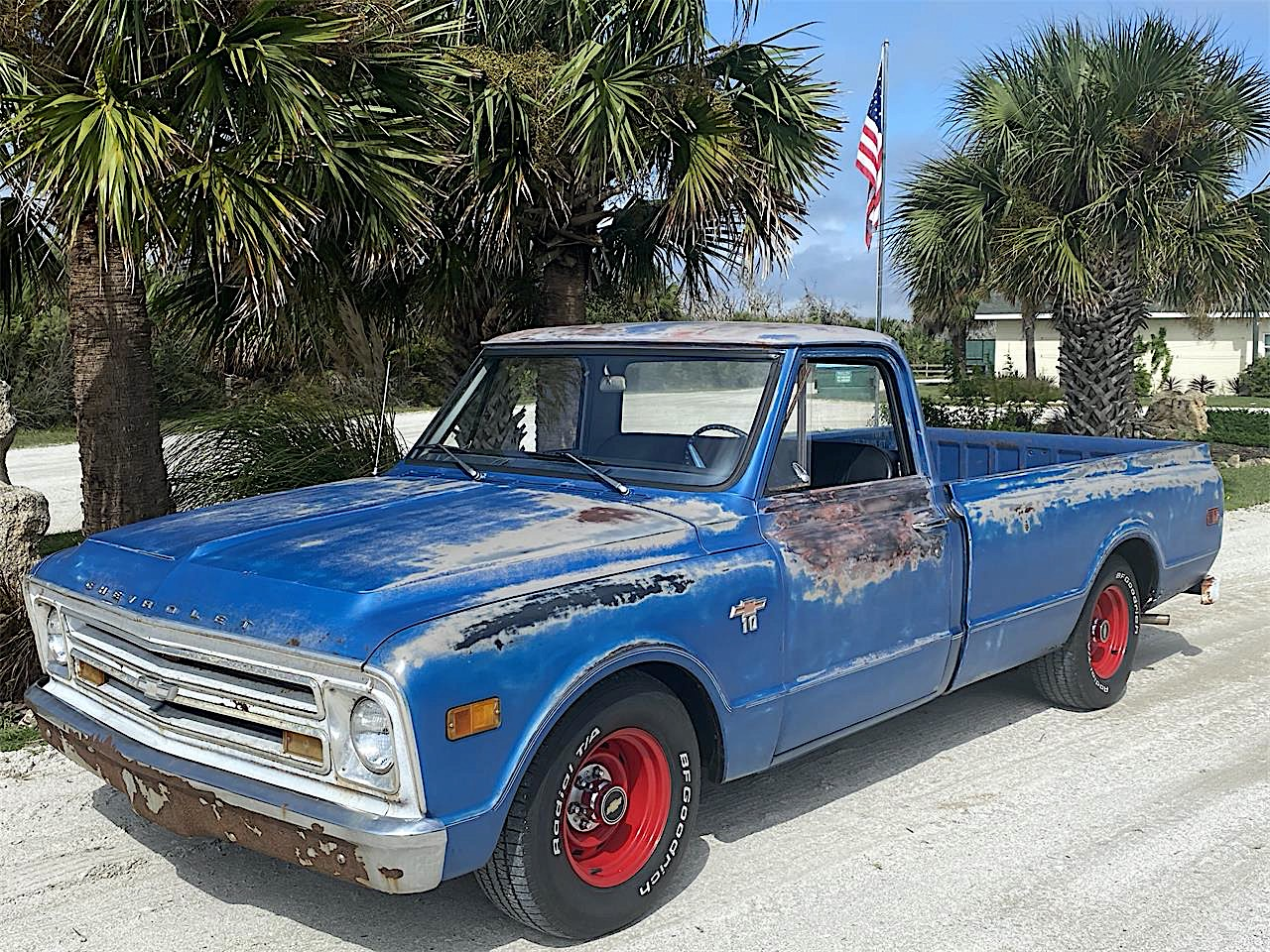 Rusty 1968 Chevy C10 Could Be Your Cheap Way Into The World Of Custom Pickups Autoevolution
