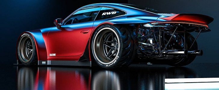 Rwb 2020 Porsche 911 Has Epic Rear Bumper Delete