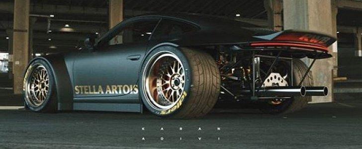 Rwb 2020 Porsche 911 Shows Original Stella Artois Livery