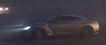 RWD Nissan GT-R With 720 HP Does Killer Burnout [Video]
