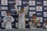 Yvan Muller wins Race 2 at Puebla