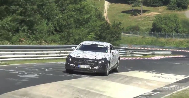 S-Class Coupe (C 217) Being Tested on the Nordschleife [Video]