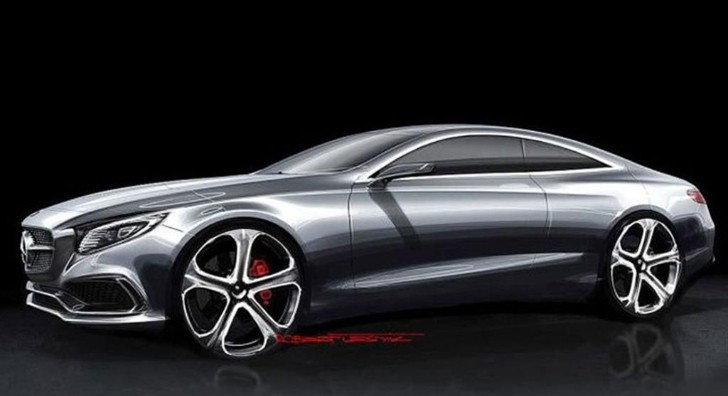 S-Class Coupe Design Sketches Get Leaked [Photo Gallery]