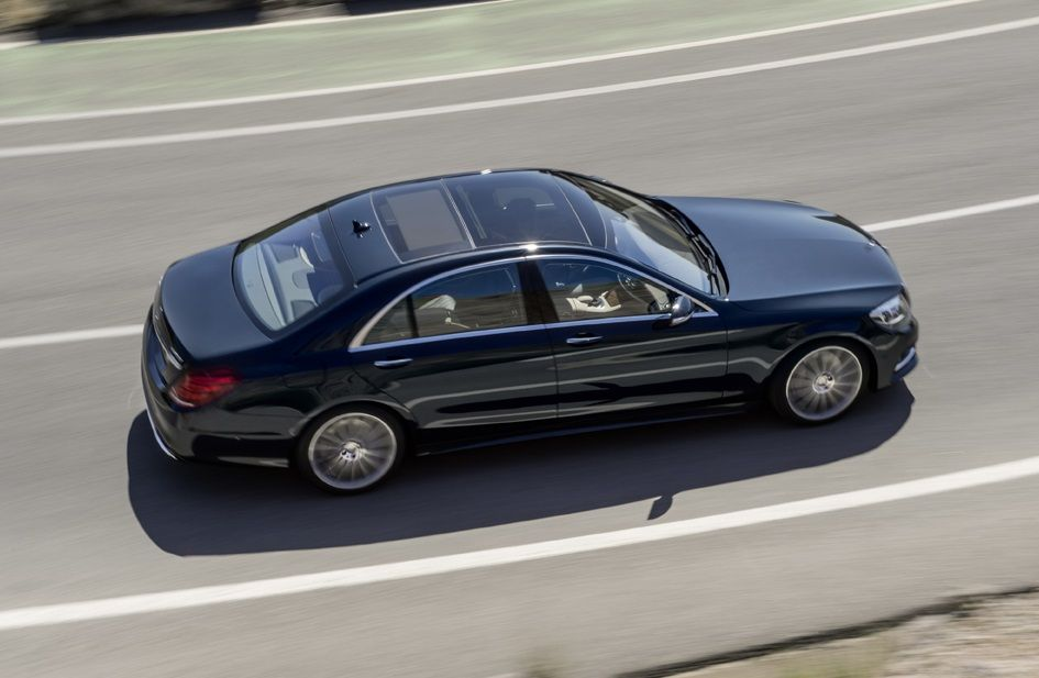 S class to offer largest ever series panoramic roof with for Mercedes benz panoramic roof